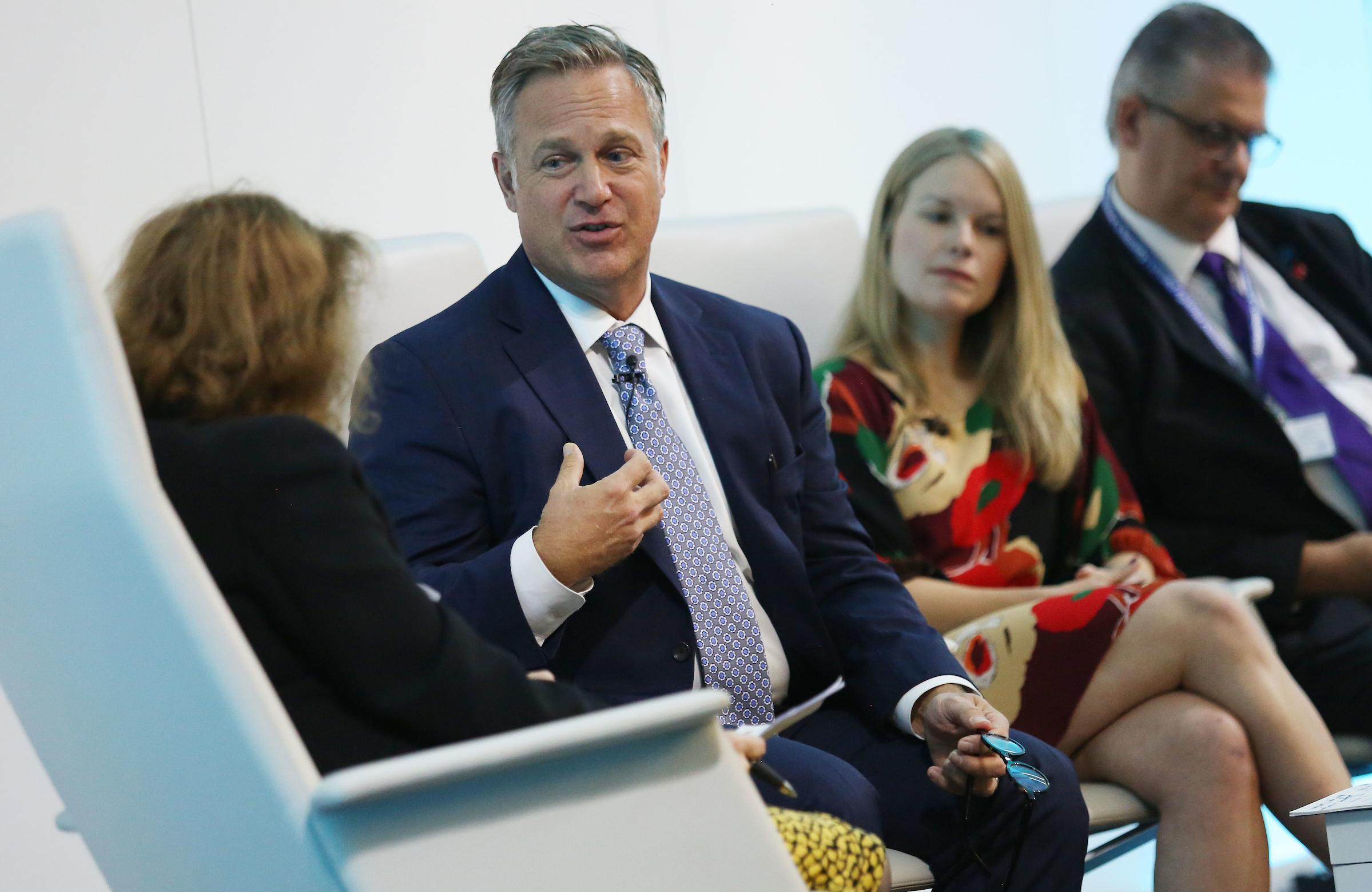 Home Instead CEO and President Jeff Huber at The Financial Times Dementia Summit 2019