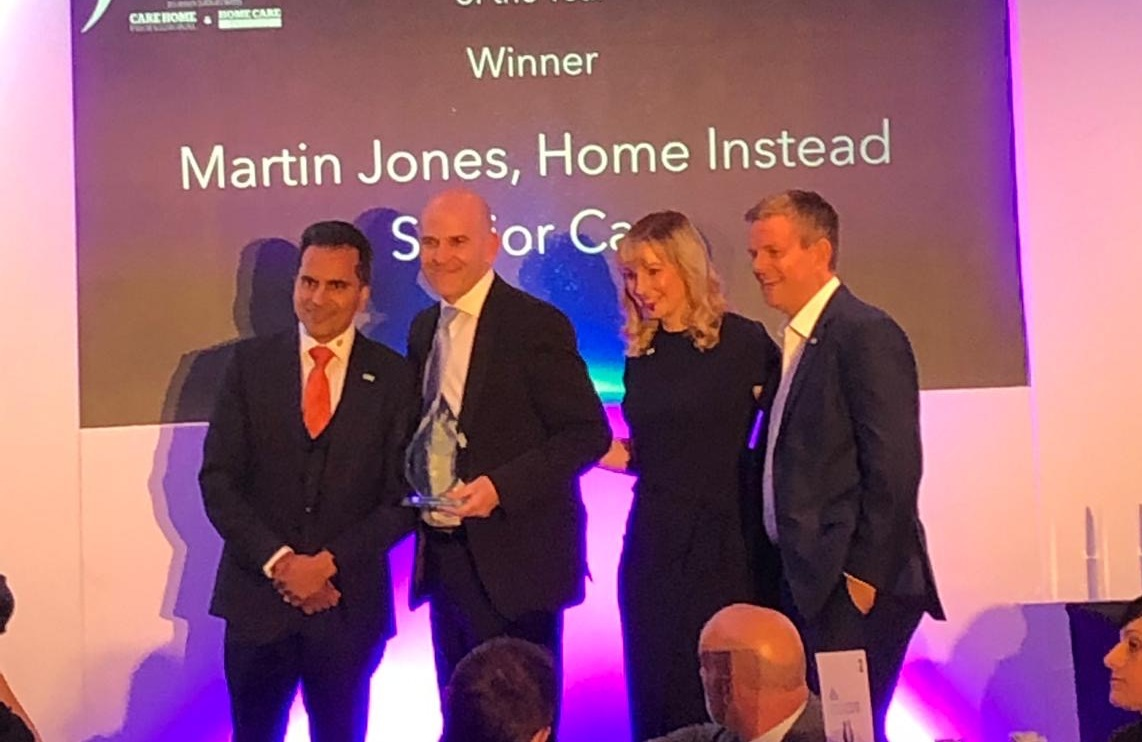 Martin Jones, CEO, Home Instead