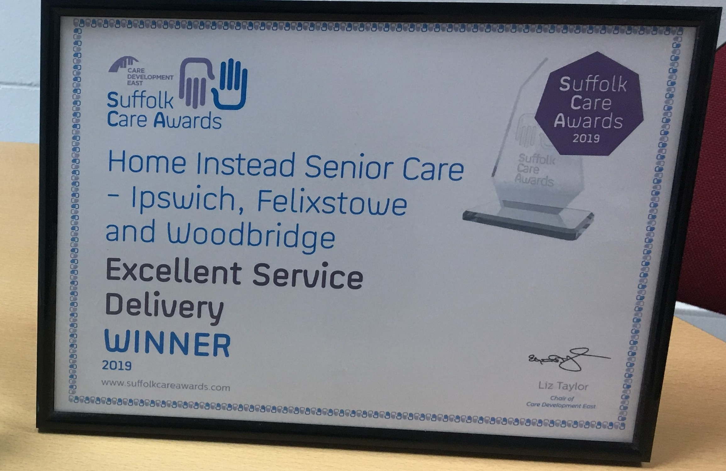 Suffolk Care Awards 2019