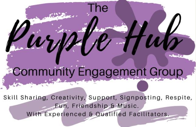 The Purple Hub, community engagement group