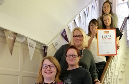 southport home care team awarded five star award